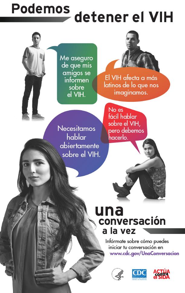 Podemos Detener el VIH Una Conversacion a la Vez